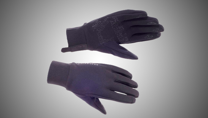 Sealskinz Stretch Fleece Nano Glove - Black