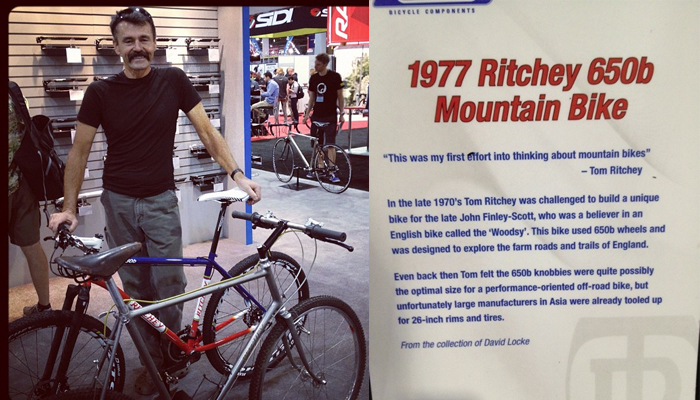 Tom Ritchey 650b
