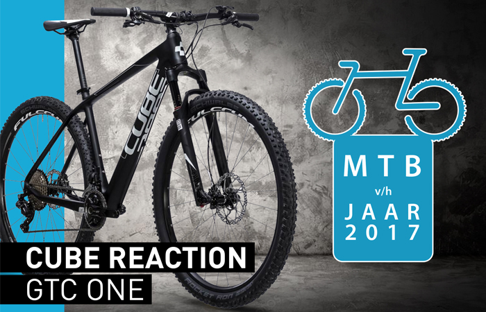 cube reaction gtc one mountainbike van het jaar 2017
